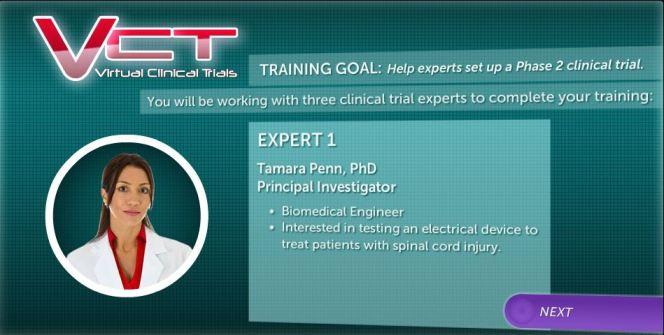 vct training goal